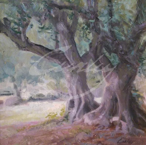 Linda Curley Christensen Olive Orchard and Garden of Gethsemane