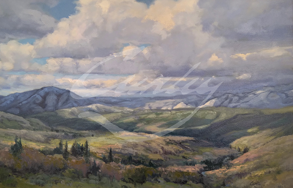 Linda Curley Christensen Late Snow in Parley's Canyon