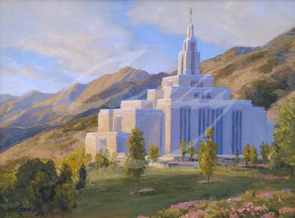 Linda Curley Christensen Draper Temple Mountain View