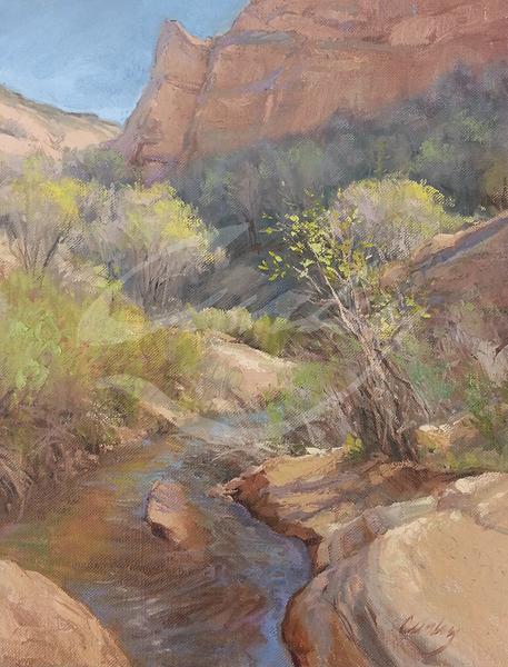 Linda Curley Christensen Kanab Spring