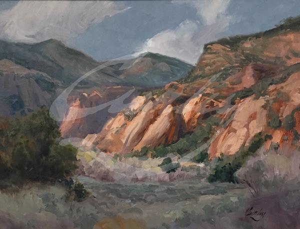 Linda Curley Christensen Kanab Landscape