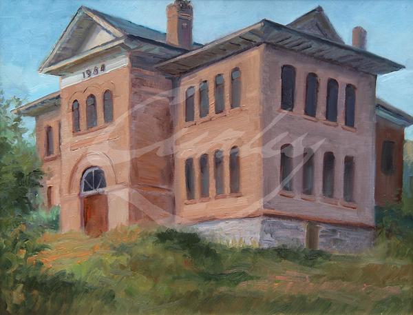 Linda Curley Christensen 1904 Wallsburg School