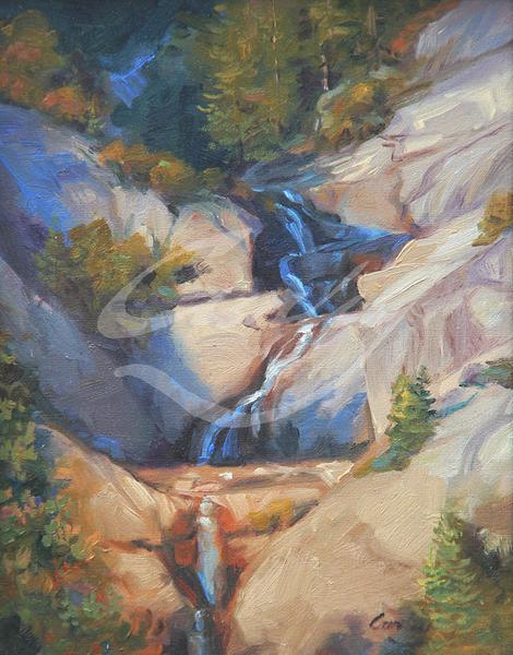 Linda Curley Christensen Yosemite Power House Falls