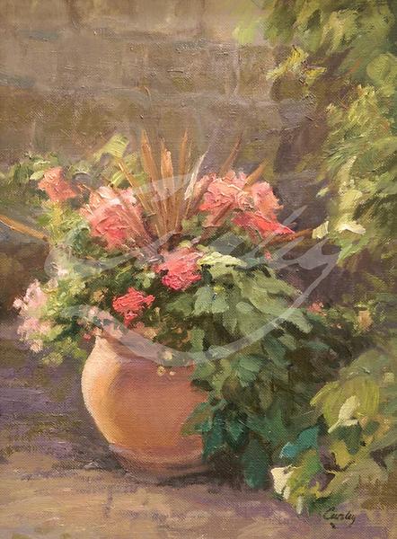 Linda Curley Christensen Patio Flowers