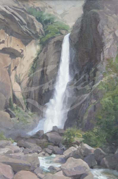Linda Curley Christensen Yosemite Powerful Falls