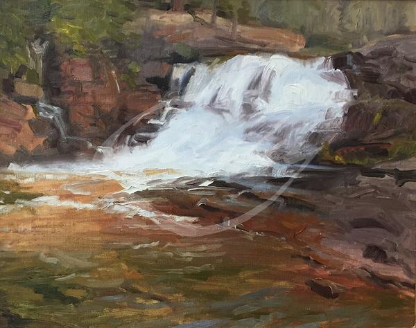 Linda Curley Christensen Provo River Upper Falls #2