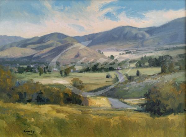 Linda Curley Christensen View from Clark's - Wallsburg