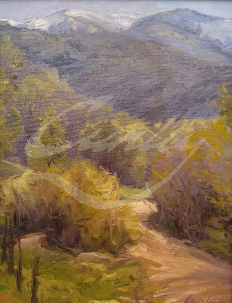 Linda Curley Christensen Spring in Little Valley