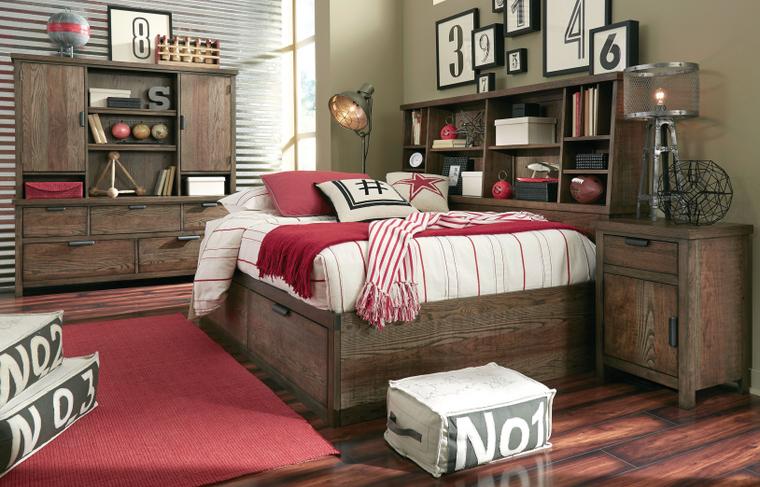 Adirondacks Twin Lounge Bed Complete