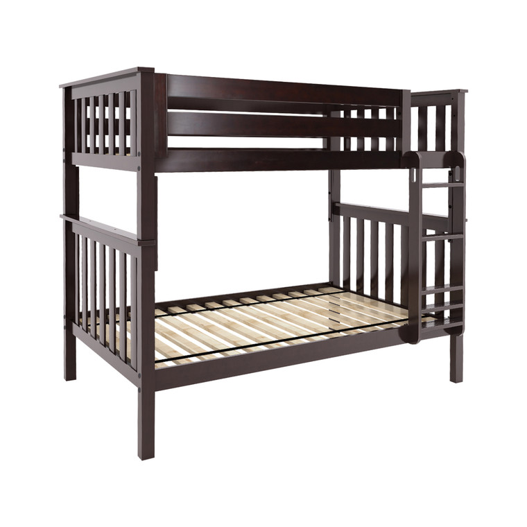Solutions Twin Over Twin Bunk Bed (Espresso)