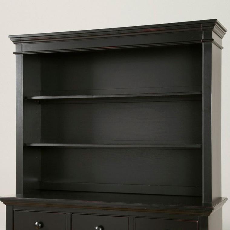Stone Harbor Bookcase/Hutch (Black)