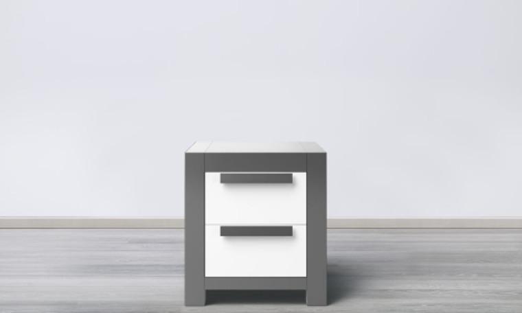 Ventianni 2 Drawer Nightstand