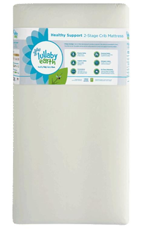 2-Stage Healthy Support Foam Crib Mattress