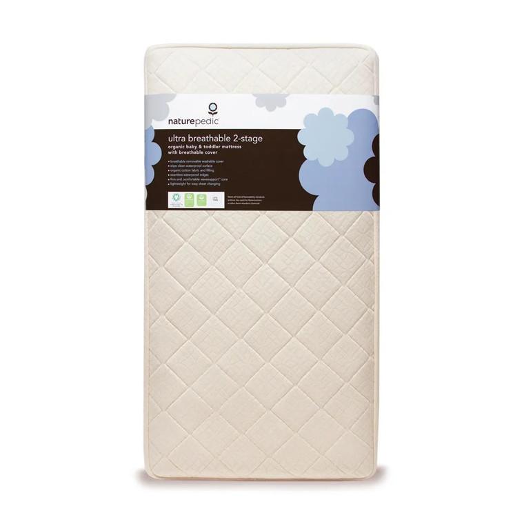 Organic 2-Stage Ultra Breathable Crib Mattress