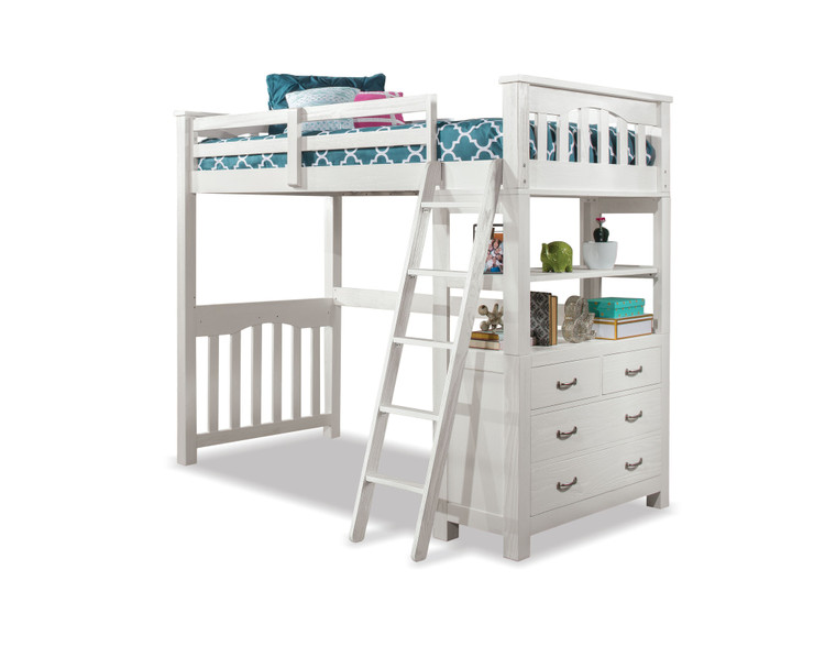 Highlands Twin Loft Only (White)