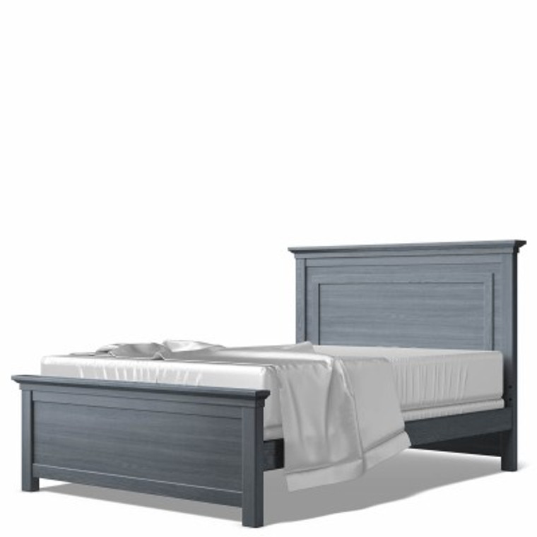 Karisma Full Bed w/ Solid Panel Headboard