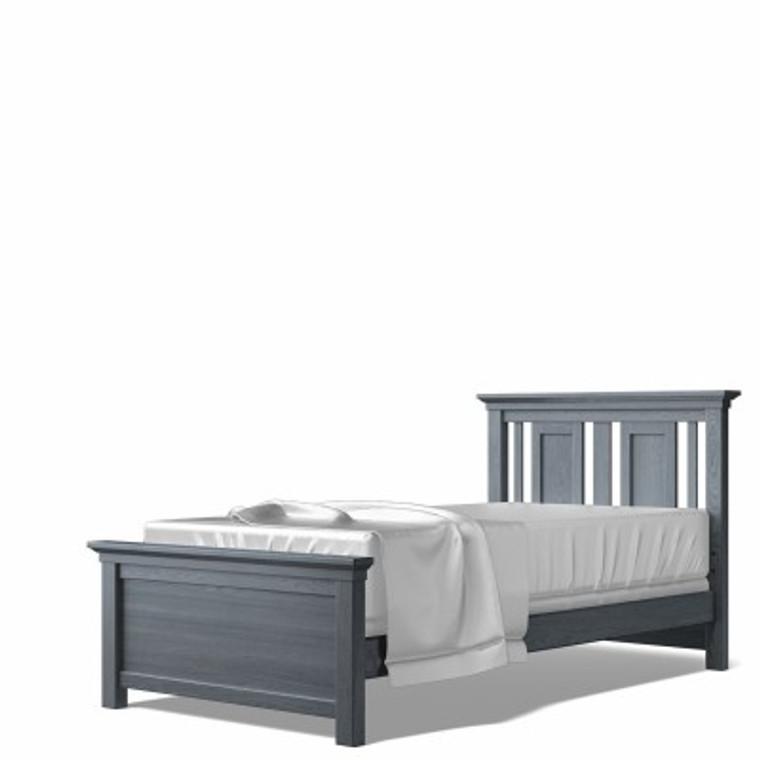 Karisma Twin Bed w/ Low Profile Footboard