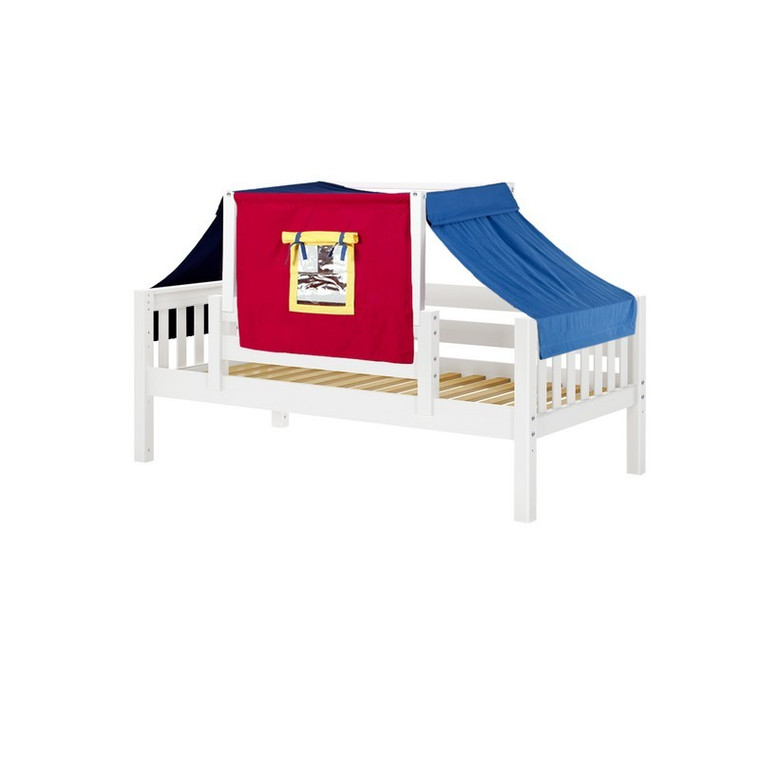 Maxtrix #YO** Twin Daybed w/ Rails & Colored Top Tent