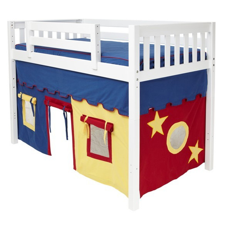 Maxtrix Twin Underbed Curtain (for Mid Loft Beds)