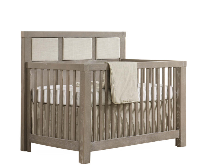 Rustico Convertible Crib with Upholstery