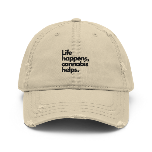 Life Happens Dad Hat