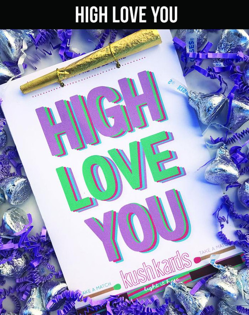 High Love You Greeting Card