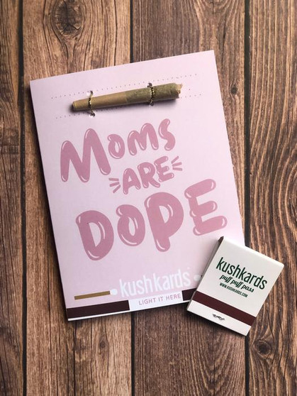 Moms Are Dope Greeting Cards