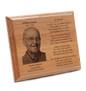 Wooden Memorial Plaque