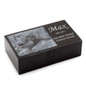 Engraved Pet Memorial Black Granite