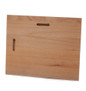 Back view of wooden plaque-can be displayed horizontally or vertically