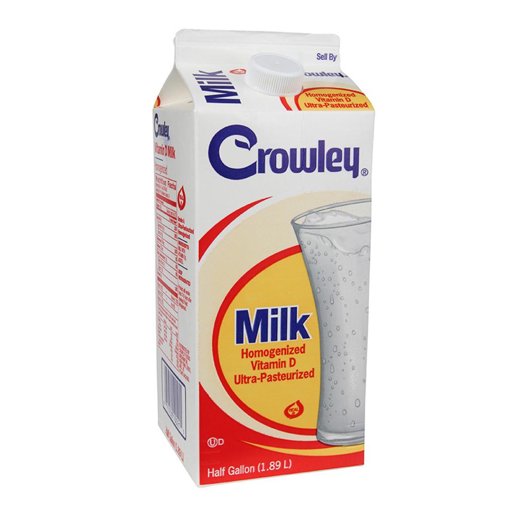 Crowley Whole Milk - .5 gal