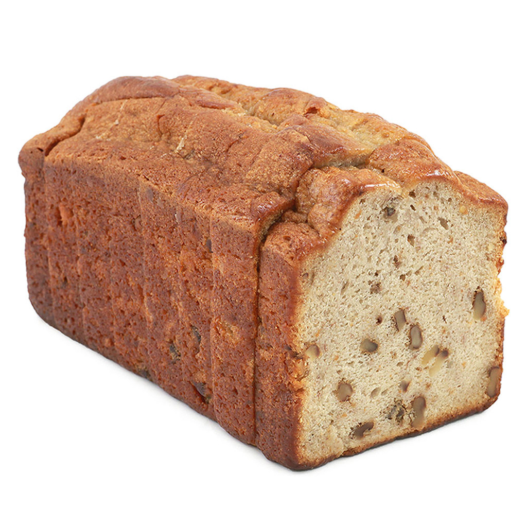 16 Slice Banana Walnut Pound Cake Loaf (Frozen) - 1ct