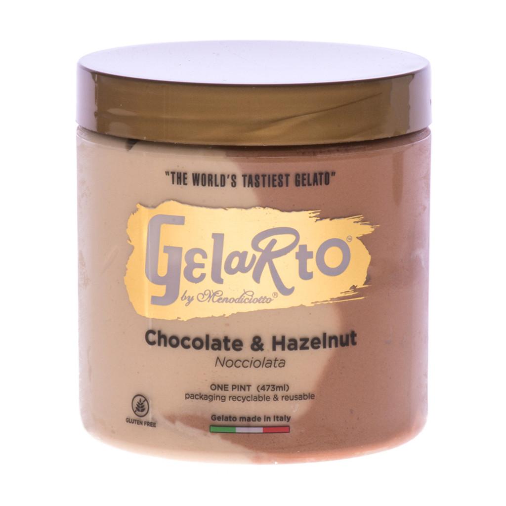 Chocolate & Hazelnut Gelato (Frozen) - 1pt