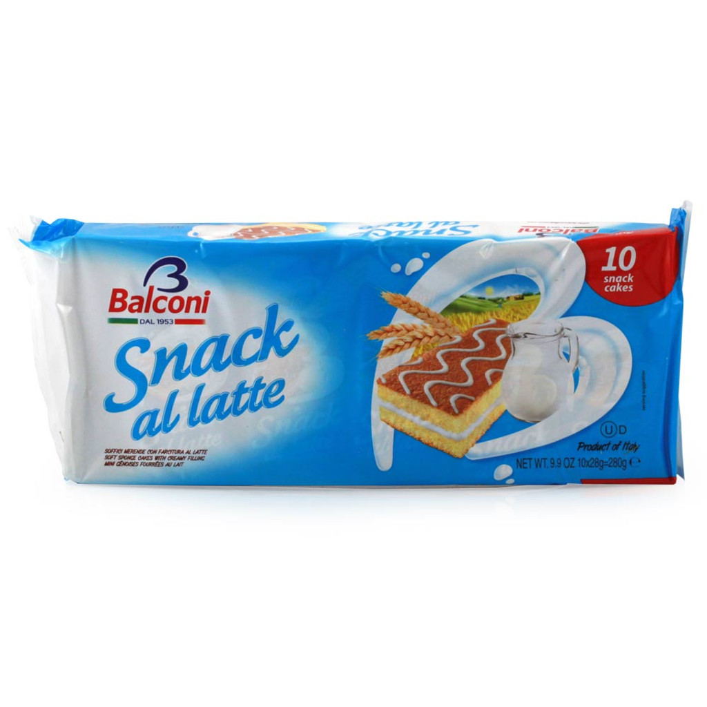 Snack Al Latte Cake - 10ct