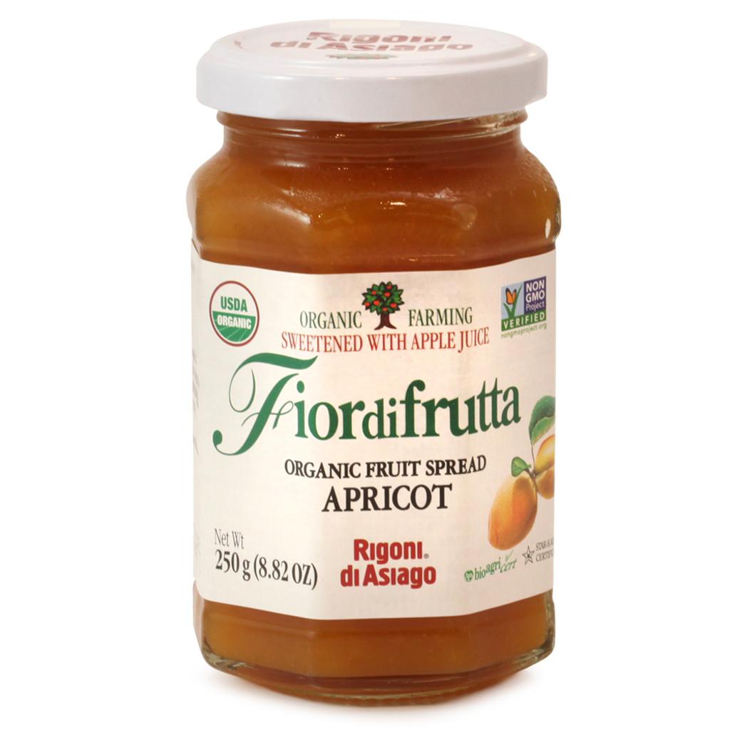Fiordifrutta Organic Apricot Fruit Spread - 8.82oz