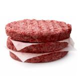 6oz Beef Burger Patties (Frozen) - 10lb @ $5.08/lb