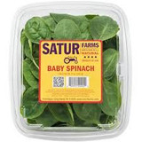 satur baby spinach