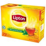 Black Decaffeinated Tea - 72ct