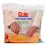 Diced Peaches (Frozen) - 5lb x 2
