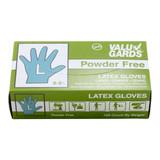 Large Powder Free Latex Gloves  - 100ct