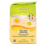 Organic Semolina Flour - 2.2lb