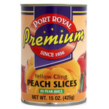 Peach Slices in Pear Juice - 15oz