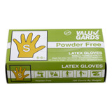 Small Powder Free Latex Gloves - 100ct