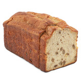 Banana Walnut Pound Cake Loaf 16 Slices (Frozen) - 1ct