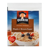 Maple & Brown Sugar Instant Oatmeal - 48ct