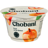 Nonfat Peach Greek Yogurt - 5.3oz x 12