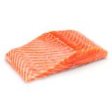 Fresh Cut Skin-On Salmon Fillet - 1.25lb-1.5lb