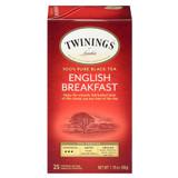 English Breakfast Tea Bags - 25ct