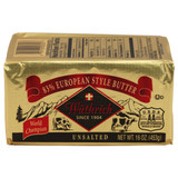 European Style 83% Fat Unsalted Butter - 1lb