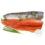 Skin-On Steelhead Trout Filet - 1.25-1.5lb